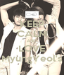 KEEP CALM AND LOVE MyungYeol's - Personalised Poster A4 size