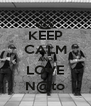 KEEP CALM AND LOVE N@to - Personalised Poster A4 size