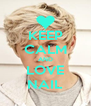 KEEP CALM AND LOVE NAIL - Personalised Poster A4 size