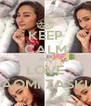 KEEP CALM AND LOVE NAOMI ZASKIA - Personalised Poster A4 size