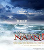 KEEP CALM AND LOVE  NARNIA <3 - Personalised Poster A4 size