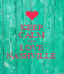 KEEP CALM AND LOVE NASHVILLE - Personalised Poster A4 size