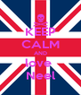 KEEP CALM AND love  Neel - Personalised Poster A4 size
