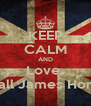 KEEP CALM AND Love  Niall James Horan - Personalised Poster A4 size