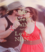 KeeP CalM AnD LovE NiaN - Personalised Poster A4 size