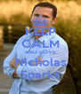 KEEP CALM AND LOVE Nicholas Sparks - Personalised Poster A4 size