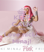 KEEP CALM AND Love nicki  Minaj! - Personalised Poster A4 size