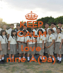 KEEP CALM AND love nine A(9a) - Personalised Poster A4 size