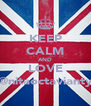 KEEP CALM AND LOVE @nitaoctavianty - Personalised Poster A4 size