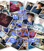 KEEP CALM AND LOVE NOAH CENTINEO - Personalised Poster A4 size