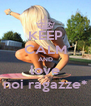 KEEP CALM AND love noi ragazze* - Personalised Poster A4 size