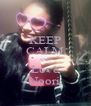 KEEP CALM AND Love Noori - Personalised Poster A4 size
