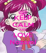 KEEP CALM AND LOVE Nozomi - Personalised Poster A4 size