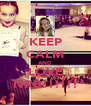 KEEP CALM AND LOVE NRG!!!!!! - Personalised Poster A4 size