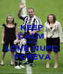 KEEP CALM AND LOVE NUFC  FOREVA - Personalised Poster A4 size