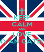 KEEP CALM AND LOVE NYAN CATS!!! - Personalised Poster A4 size