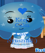 Keep Calm and Love Nyuszifül:) - Personalised Poster A4 size