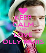 KEEP CALM AND LOVE OLLY MURS - Personalised Poster A4 size