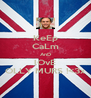 KeEp CaLm AnD lOvE OLLY MURS !<3x - Personalised Poster A4 size