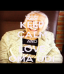 KEEP CALM AND LOVE OMA UDI - Personalised Poster A4 size