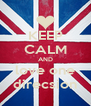 KEEP CALM AND love one direcsion - Personalised Poster A4 size