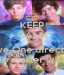 KEEP CALM AND Love One direction No matter what - Personalised Poster A4 size