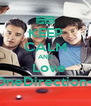 KEEP CALM AND   Love   OneDirection<3 - Personalised Poster A4 size