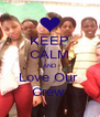 KEEP CALM AND Love Our  Crew  - Personalised Poster A4 size