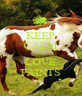 KEEP CALM AND LOVE PAINTS - Personalised Poster A4 size