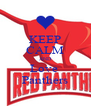 KEEP CALM AND Love  Panthers - Personalised Poster A4 size