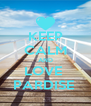 KEEP CALM AND LOVE  PARDISE  - Personalised Poster A4 size