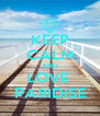 KEEP CALM AND LOVE  PARIDISE - Personalised Poster A4 size