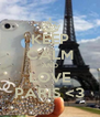 KEEP CALM AND LOVE PARIS <3 - Personalised Poster A4 size