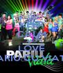 KEEP CALM AND LOVE PARIU CU VIATA - Personalised Poster A4 size
