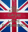 KEEP CALM AND LOVE PARMITERS - Personalised Poster A4 size