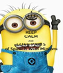 KEEP CALM AND LOVE PARTS of Speech With Minions - Personalised Poster A4 size