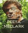 KEEP CALM AND LOVE PEETA MELLARK - Personalised Poster A4 size