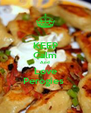KEEP Calm And Love Perogies  - Personalised Poster A4 size