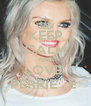 KEEP CALM AND LOVE  PERRIE . E  - Personalised Poster A4 size