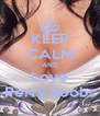 KEEP CALM AND Love Perry boobs - Personalised Poster A4 size