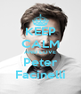 KEEP CALM AND LOVE Peter Facinelli - Personalised Poster A4 size