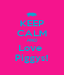 KEEP CALM AND Love  Piggys! - Personalised Poster A4 size