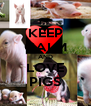 KEEP CALM AND LOVE PIGS - Personalised Poster A4 size
