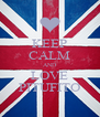 KEEP CALM AND LOVE PITUFITO - Personalised Poster A4 size