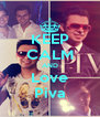 KEEP CALM AND Love Piva - Personalised Poster A4 size