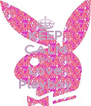 KEEP CALM AND Love Playboy - Personalised Poster A4 size