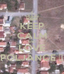 KEEP CALM AND LOVE POLJANCE ♥ - Personalised Poster A4 size
