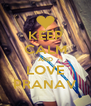 KEEP CALM AND LOVE PRANAV - Personalised Poster A4 size