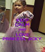 KEEP CALM AND LOVE PRINCESS JICKY - Personalised Poster A4 size