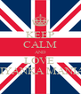 KEEP CALM AND LOVE  PRIYANKA MANIAL  - Personalised Poster A4 size